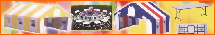 Table Chair and Tent Rental